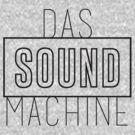 DAS SOUND MACHINE - BLACK by EdwardDunning