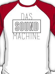 DAS SOUND MACHINE - BLACK T-Shirt