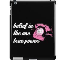 Pink Telephone iPad Case/Skin