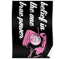 Pink Telephone Poster