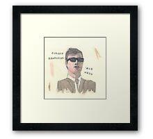 Joe Meek - Bob Art Models Framed Print