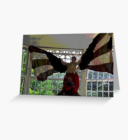 A Dance from the Orient. Greeting Card