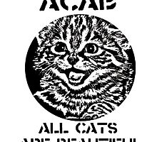 ACAB cats by thiswaltz