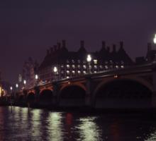 Across the River Thames Sticker