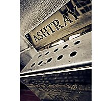 Foggy Dew Ashtray Photographic Print