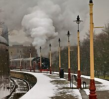 Snow & Steam, East Lancashire Railway by Steve  Liptrot