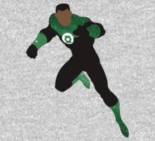 Green Lantern (John Stewart) Galaxy by innergeekdesign