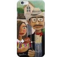 New American Gothic  iPhone Case/Skin