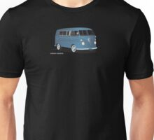 VW Bus T2 Transporter Blue  Unisex T-Shirt