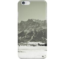 Leading to the Zugspitze iPhone Case/Skin