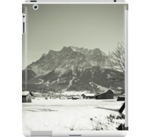Leading to the Zugspitze iPad Case/Skin