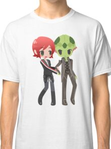 Mass Effect - Shepard and Thane [Commission] Classic T-Shirt