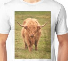 Highland Cow in Scotland Unisex T-Shirt