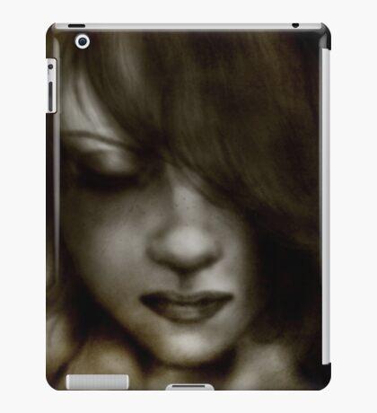 Dark Hair and Freckles iPad Case/Skin