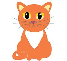 Only Orange Marmalade Cat by Jean Gregory  Evans