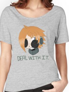 """Robaschi """"Deal With It"""" Women's Relaxed Fit T-Shirt"""
