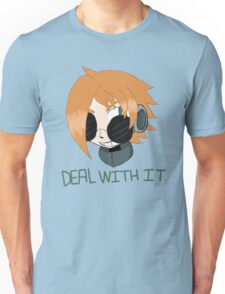 """Robaschi """"Deal With It"""" Unisex T-Shirt"""