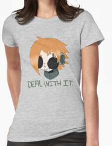 "Robaschi ""Deal With It"" Womens Fitted T-Shirt"