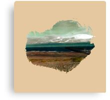 Eroded Composition | Five Canvas Print