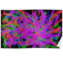 The Jazz Abstract Painting Poster