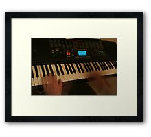 Just Me Playing Framed Print