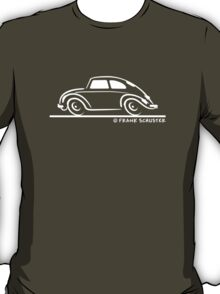 VW Beetle Speedy White T-Shirt