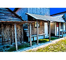 The Shacks Two Photographic Print