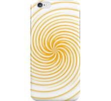 Collection Yellow Swirl  iPhone Case/Skin