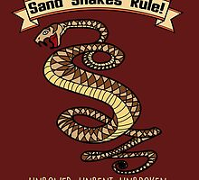 Sand Snakes Rule! by Pentax25