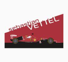 2015 Formula 1 Scuderia Ferrari SF15-T Sebastian Vettel by ApexFibers