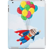 Super Carl Fredricksen iPad Case/Skin