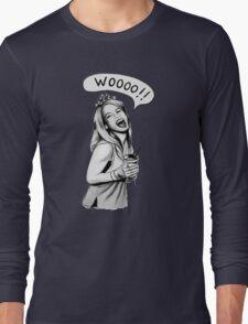 Wooooo Girl !! Long Sleeve T-Shirt