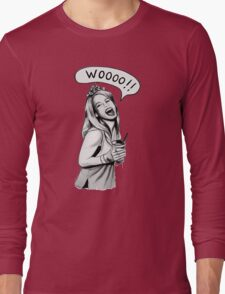 Wooooo Girl !! Long Sleeve T-Shirt