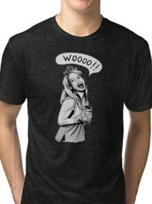 Wooooo Girl !! Tri-blend T-Shirt