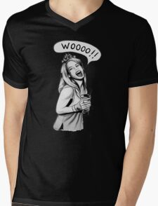 Wooooo Girl !! Mens V-Neck T-Shirt