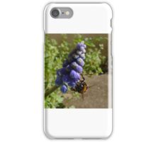 Bee-ing Blue iPhone Case/Skin
