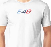 E46 in racing colors Unisex T-Shirt