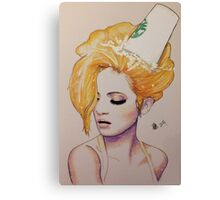 Pumpkin Spice Canvas Print
