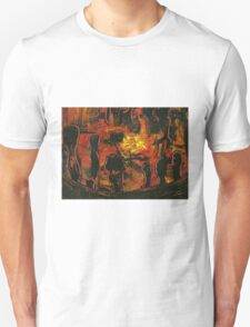 Drum and Dance Circle  Unisex T-Shirt