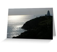 Nova Scotia Light Greeting Card