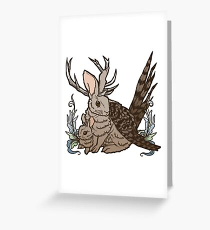 The Wolpertinger Greeting Card