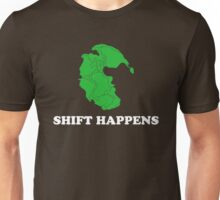 Pangea- Shift Happens Unisex T-Shirt