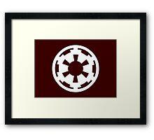Imperial Wheel Framed Print