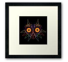 Skull Kid Mask Framed Print