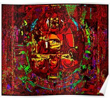 BEHIND THE CURTAIN - Buddha series Poster