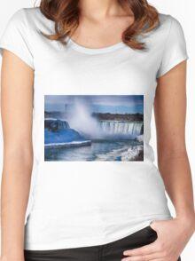 Niagara Falls  Women's Fitted Scoop T-Shirt
