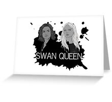 Regina and Emma - Swan Queen Greeting Card