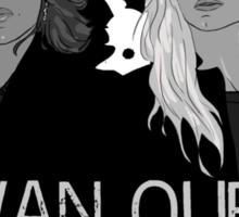 Regina and Emma - Swan Queen Sticker