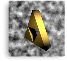 Sealed Triforce Metal Print