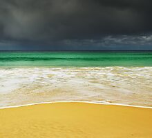 Sand and Storm, Bruny Island, Tasmania by NickMonk